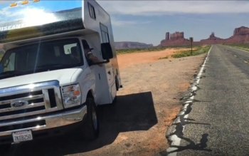 Road Trip to Monument Valley in our RV
