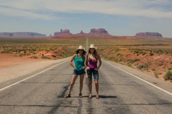 Forrest Gump Hill Monument Valley