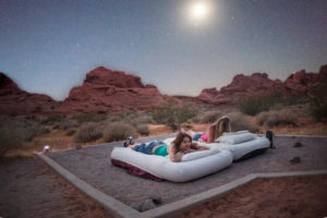 Camping at the Valley of Fire