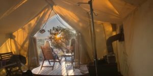 glamping at Moab under Canvas - women who explore