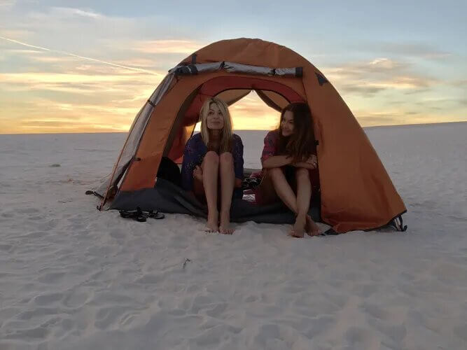 backcountry camping white sands national monument