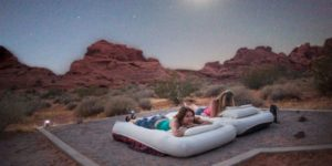 Women who explore - camping at valley of fire state park