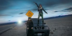 Road Trip Chicks on Extraterrestrial Highway